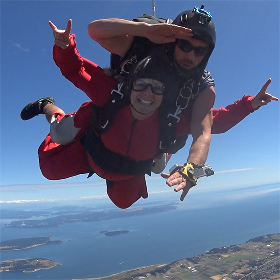 Skydiving in Victoria